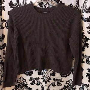 Forever21 junior cable knit sweater